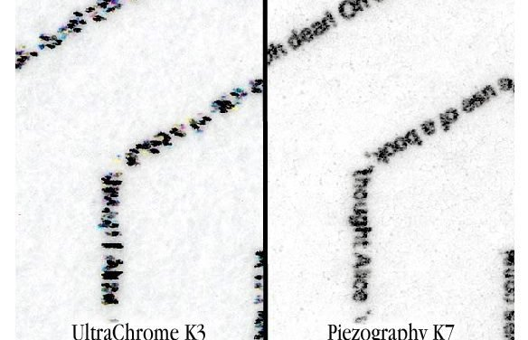 Piezography resolution in comparison to Epson ABW