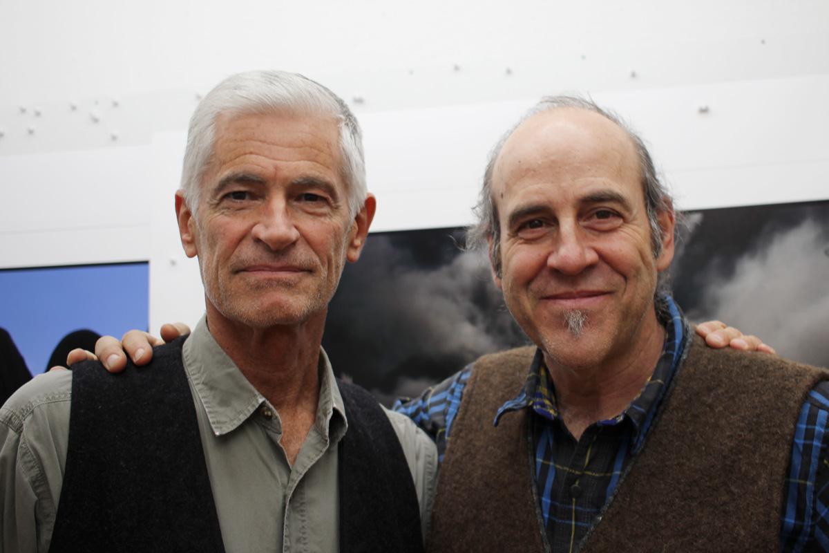 James Nachtwey and Jon Cone