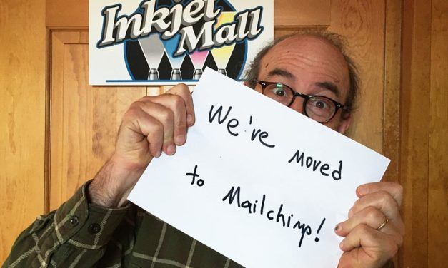 We've Moved to Mailchimp